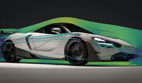 Zobacz, jak prezentuje się McLaren 720S z aerodynamicznym zestawem części  wprost z drukarki 3D