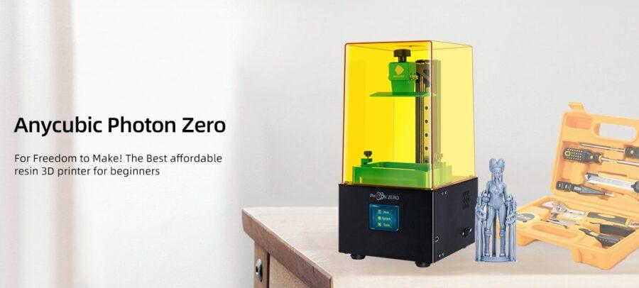Rozpakowanie i montaż Photon Mono od AnyCubic (wideo)