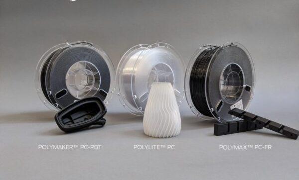 Debiutują filamenty poliwęglanowe (PC) zaprojektowane do drukarek 3D z podgrzewaną komorą