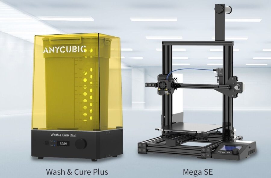 Anycubic pokazał na CES 2021 drukarkę Mega SE oraz myjkę Wash & Cure Plus